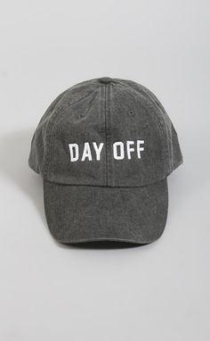 day off baseball hat NEED