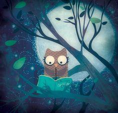 Owls always remind me of my best friend (: