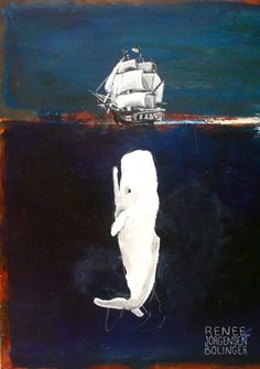 Moby Dick poster based on Jaws? Sure.
