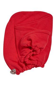 Primark - Red Microfibre Hair Turban £1.30