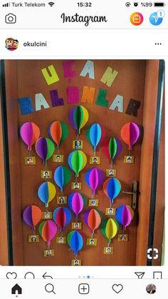 Kapı süsleme Okul öncesi kapı süsü Anasınıfı kapı süsleme Okul öncesi
