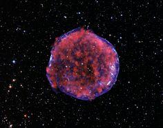 enana producido Supernova Tycho estrella nuestra remanente galaxia Vía de de por Láctea de El la una blanca explosión la Zq8wA4