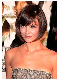 Adorable Bob on #KatieHolmes
