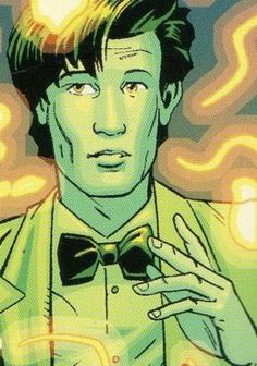 The 11th Doctor as he appears in Marvel comics