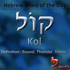 thunder...voice...sound