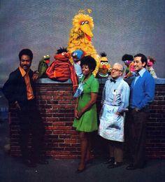 Sesame Street back in the day.