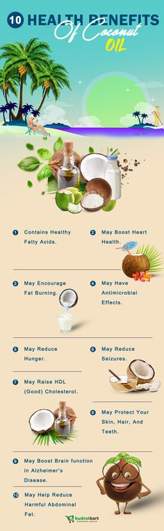10 Health Benefits Of Coconut Oil