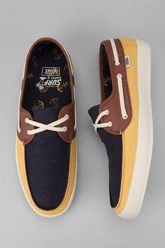 Vans Chauffer Boat Sneaker #UrbanOutfitters