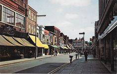 Town centre. Bognor Regis, Brighton, Past, Centre, England, Street View, Child, Places, Past Tense