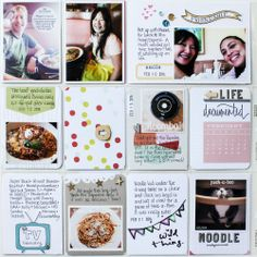 2014 Project Life | February p.4 by listgirl at @Studio_Calico