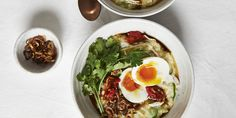 Chicken Congee with Soft-Boiled Egg via @iquitsugar