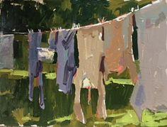 Garden/allotment paintings - Haidee-Jo Summers artist