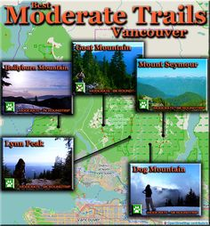 Best Moderately Challenging Hiking Trails in Vancouver