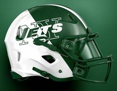 Cool Football Helmets, Football Helmet Design, Nfl Football Players, Sports Helmet, College Football Teams, Football Uniforms, Sport Football, Football Stuff, New York Jets Football
