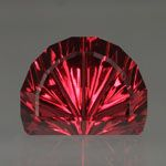 Rhodolite Garnet gemstone, 5.51 carat, cut by John Dyer