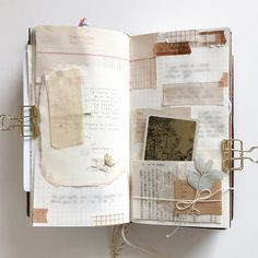 I got a lovely bundle of delicate papery treasures from Documenting the purchase in my Midori Traveler's notebook. Bullet Journal And Diary, Bullet Journal Inspiration, Journal Ideas, Memory Journal, Photo Journal, Journal Paper, Scrapbook Journal, Memo Boards, Travel Journal Pages
