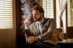 Schauspieler Stephan Luca modelt für Paul Rosen | KlonBlog