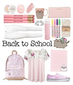 """""""#PVxPusheen"""" by cottoncrown ❤ liked on Polyvore featuring Pusheen, Joules, Vans, H&M, Sunnylife, Fresh, River Island, Michael Kors, BillyTheTree and Jane Iredale"""