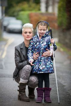 The girl, who has been virtually blind since she suffered a stroke aged four, was told byeducation chiefs that other children and teachers could trip on her fibreglass walking cane.  Despite the Health and Safety Executive rubbishing the assessment's findings, attempts at reconciliation between Lily-Grace