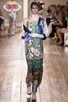 Maison Margiela Fall 2014 Couture Fashion Show - Vanessa Moody (Women)