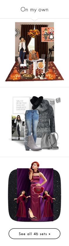 """""""On my own"""" by princhelle-mack ❤ liked on Polyvore featuring interior, interiors, interior design, home, home decor, interior decorating, Eclipse, BB Dakota, Improvements and Winward"""