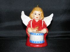 1984 Goebel Bell Angel Christmas Tree Ornament by TheIDconnection, $15.00