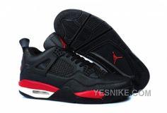 Air Jordan 4 Homme Temporal Rift Noir/Rouge