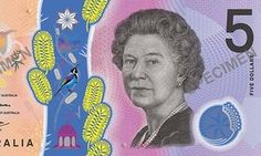 Cash rules everything around one ... the new Australian five-dollar bank note.