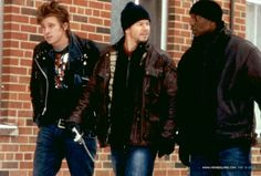 Garrett Hedlund, Mark Wahlberg, and Tyrese - Four Brothers