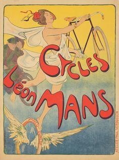 Cycles Léon Mans ~ Victor Mignot | #Bicycles #LéonMans