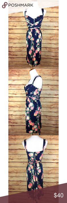 "⭐️Elie Tahari Silk Sleeveless Floral Wrap Dress Like this item? Make an Offer!  or Click ""Add to Bundle"" and I'll send you a special offer! I can even save you on shipping :)   Elie Tahari Sleeveless Silk Tropical Floral Wrap Dress  Good overall pre-owned condition and gorgeous dress! Stitching has come loose on the back left shoulder strap and the is a small hole on the left buttock  Size: M  Colors: Blue, Pink, Green, White, Yellow   Measurements:  Chest/Bust: 18"" (armpit to armpit) Waist…"