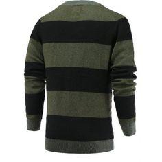 50e9eaa07e66 Color Blocks Spliced Sweater  CLICK!  clothing,  shoes,  jewelry,  women,   men,  hats