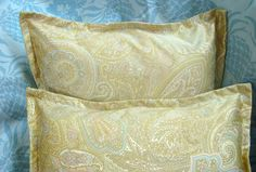 CORAL BEACH BOUDOIRS  Pair Custom Made Decorative by Sew1Pretty, $24.00