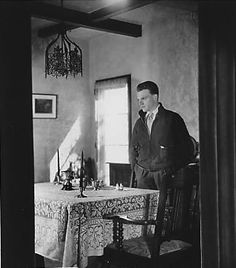 James Cagney at home