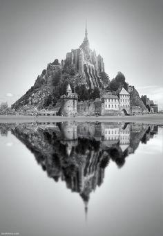 Mont Saint Michel - Ben Heine