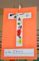 A Place Called Kindergarten: this week in kindergarten Kindergarten Names, Preschool Names, Kindergarten Classroom, Kindergarten Activities, All About Me Activities, Name Activities, Alphabet Activities, School Reception, Name Crafts