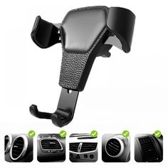 Buy Car phone holder Air Vent Holder Clip Clamp Adjustable Stand Mount Holder Universal holder For phone in car Cell Smartphone Iphone Car Mount, Car Cell Phone Holder, Cell Phone Car Mount, Iphone Holder, Magnetic Phone Holder, Smartphone Reviews, Mobile Holder, Car Mount Holder, Galaxies