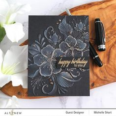 Little Flowers, Large Flowers, Card Making Techniques, Henna Designs, Embossing Folder, Free Ebooks, Three Dimensional, Swirls, Scrapbook Pages