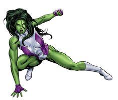 She-Hulk •Mike Deodato Jr.