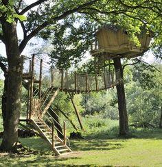 Treehouse - Cabanes des Grands Lacs | Franche Comté