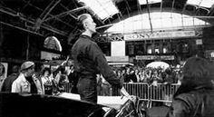 David Bowie. London, Victoria Station, May 2 1976.