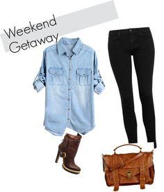 """Weekend Getaway"" by gabriela-portillo-hemmie on Polyvore"