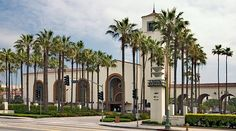 Los Angeles Union train station. The perfect location for a old Hollywood glam wedding. Its one of the few architectural buildings intact from that era.