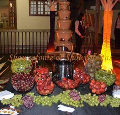 Festas com Fonte de Chocolate Showcofonte & Showcofestas Brasília-DF