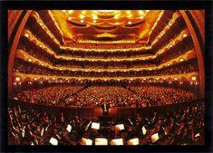 NYC.  Lincoln Center - Metropolitan Opera House