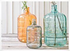 Bonbonne en verre recyclé HK Living
