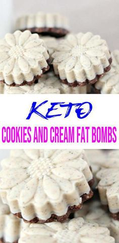 Check out this keto cookies and cream fat bombs recipe. Check out this keto cookies and cream fat bombs recipe. Keto Chocolate Fat Bomb, Low Carb Chocolate, Couscous, Lemon Fat Bombs, Fat Burning Cream, Low Carb Candy, Menu, Coconut Recipes, Healthy Recipes