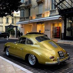Utwo porsche 1500 gs carrera coupe balco classics love the chartreuse colour