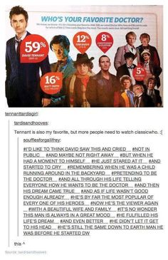 I don't even know why I'm pinning this... MATT IS THE OBVIOUS CHOICE!!!! :'( David Tennant was a loser