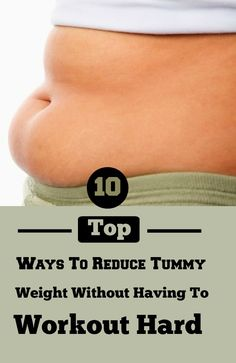 Reducing tummy fat without having to work hard is the most common concern in most people's mind. Fact is belly fat is not just the most dangerous type of fat but is also quite difficult to reduce.